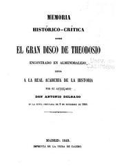 Discursos leidos ante la Real academia de la historia: Volumen 10