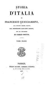 Storia d'Italia: Volume 1