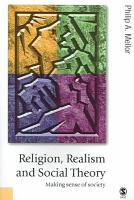 Religion  Realism and Social Theory PDF