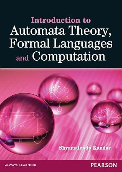 Introduction to Automata Theory  Formal Languages and Computation PDF