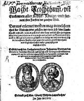 Macht, Reichthum und Einkommen aller Kayser, Könige ... der gantzen Welt