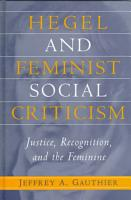 Hegel and Feminist Social Criticism PDF