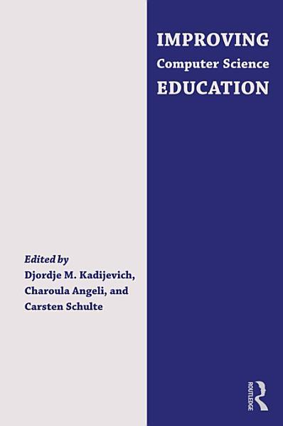 Improving Computer Science Education PDF