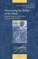 Discovering the Riches of the Word PDF