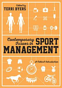 Contemporary Issues in Sport Management Book