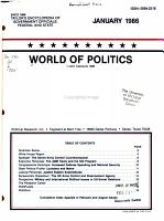 World of Politics PDF