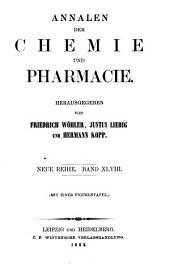 Annalen der Chemie und Pharmacie: vereinigte Zeitschrift des Neuen Journals der Pharmacie für Ärzte, Apotheker und Chemiker u. des Magazins für Pharmacie und Experimentalkritik, Band 124