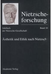 Ästhetik und Ethik nach Nietzsche