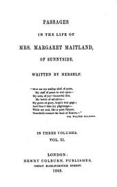 Passages in the Life of Mrs. Margaret Maitland of Sunnyside: Volume 2