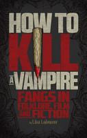 How to Kill a Vampire PDF