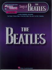 Songs of the Beatles (Songbook): E-Z Play Today, Volume 6, Edition 2