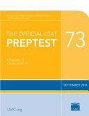 The Official LSAT Preptest 73   Sept  2014 LSAT