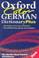 Oxford Color German Dictionary Plus PDF