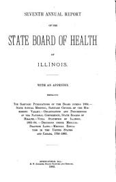 Annual Report of the Illinois State Board of Health: Volume 7