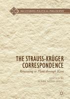 The Strauss Kr  ger Correspondence PDF