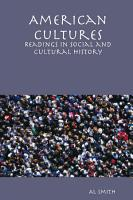 American Cultures  Readings in Social and Cultural History PDF