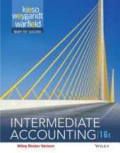 Intermediate Accounting, 16th Edition: Edition 16