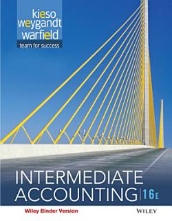 Intermediate Accounting  16th Edition Book