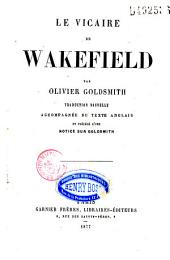 Le vicaire de Wakefield, The Vicar of Wakefield