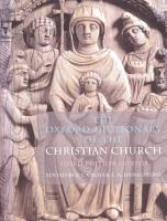 The Oxford Dictionary of the Christian Church PDF