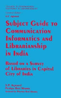 Subject Guide to Communication  Informatics and Librarianship in India PDF