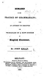 Remarks on the Practice of Grammarians
