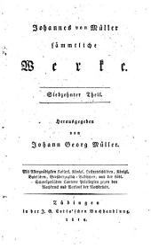 Johannes von Müller sämmtliche Werke: Band 17