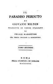 Il paradiso perduto: Volume 2
