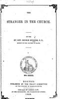 The Stranger in the Church PDF