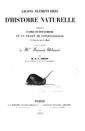 Lec̜ons élémentaires d'histoire naturelle: comprenant un aperc̜u sur toute la zoologie et un traité de conchyliologie