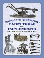 Turn of the Century Farm Tools and Implements PDF