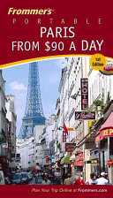 Frommer s Portable Paris from  90 a Day PDF