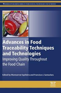 Advances in Food Traceability Techniques and Technologies PDF