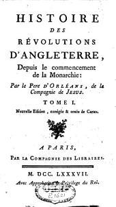 Histoire des révolutions d'Angleterre: Volume1