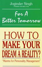 For a Better Tomorrow PDF