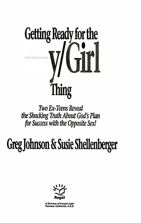 Getting Ready for the Guy girl Thing PDF