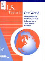U S  Teens in Our World PDF