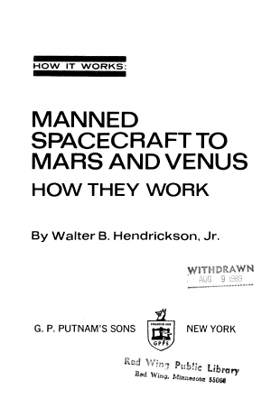 Manned spacecraft to Mars and Venus  how they work
