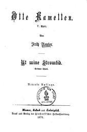 Sämmtliche Werke: Olle Kamellen; 5, Ut mine Stromtid, 3, Band 10