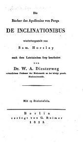 De Inclinationibus