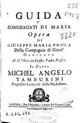 Guida á congregati di Maria