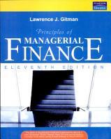 Principles Of Managerial Finance  11 E PDF