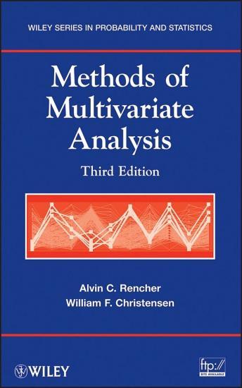 Methods of Multivariate Analysis PDF