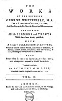 The Works of the Reverend George Whitefield     PDF