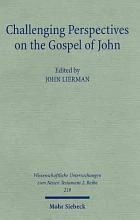 Challenging Perspectives on the Gospel of John PDF