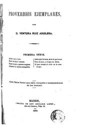 Proverbios ejemplares: Volumen 1