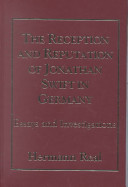 The Reception and Reputation of Jonathan Swift in Germany PDF