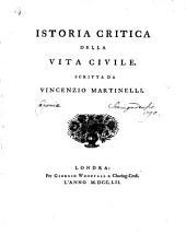 Istoria critica della Vita civile