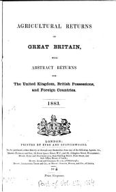 Parliamentary Papers: Volume 85