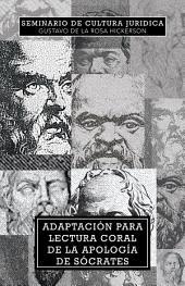 Adaptación para lectura coral de la Apología de Sócrates